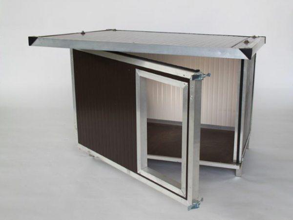 cuccia tetto inclinato