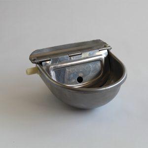 abbeveratoio automatico in acciaio inox cani