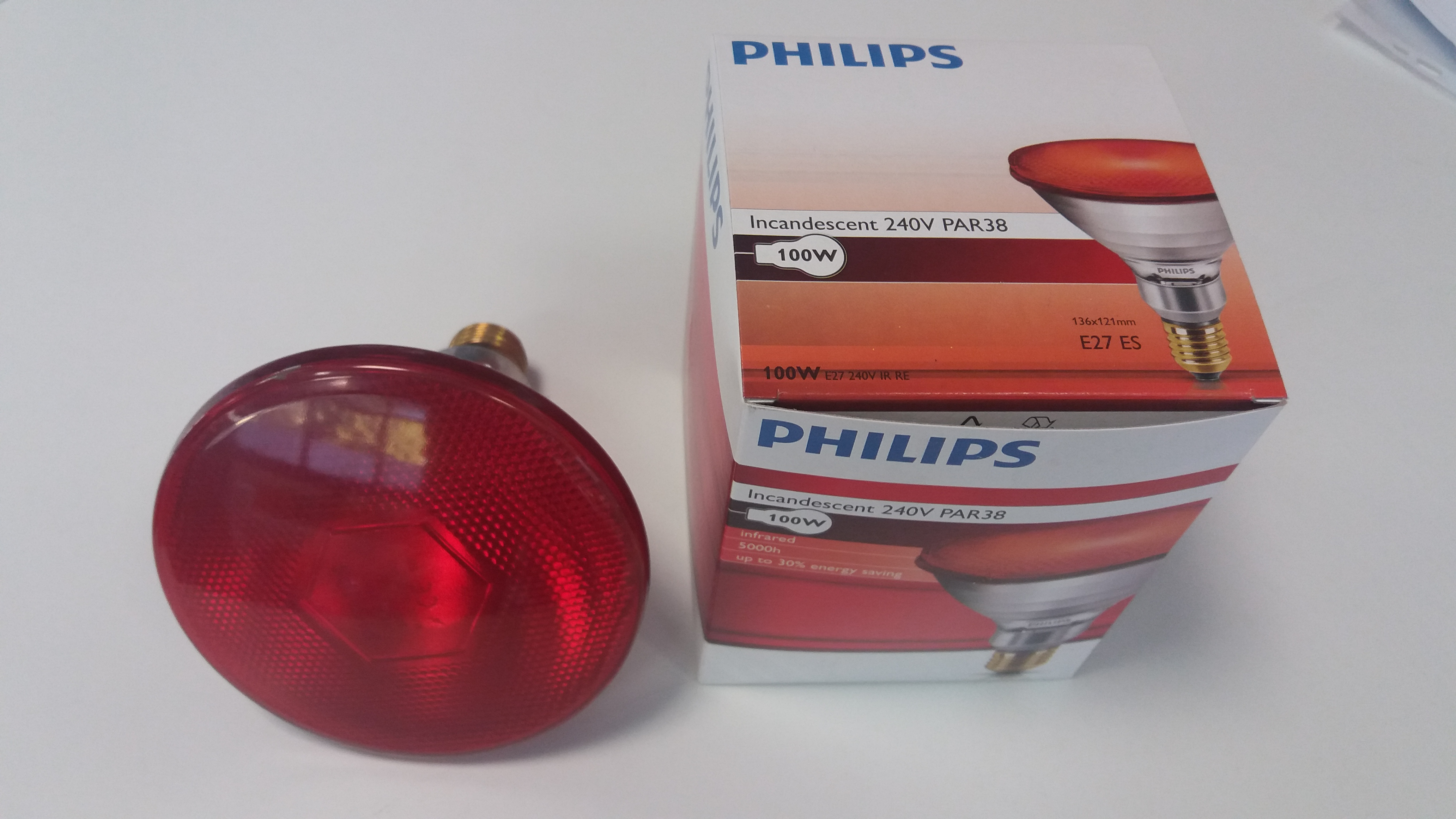Lampadine philips a infrarossi w o w retex