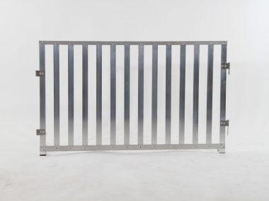 pannelli in stecche d'alluminio
