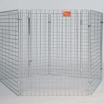 recinto modulabile leggero in rete