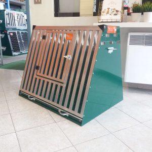 Gabbia Usata in Stecche d'Alluminio 90 x 70 x 75 cm
