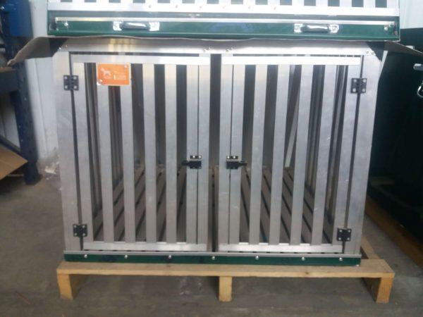 gabbia nuova in stecche d'alluminio