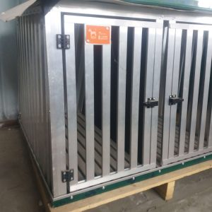 Gabbia Nuova in Stecche d'Alluminio 90 x 80 x 65 cm