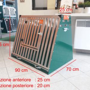 gabbia usata in stecche d'alluminio