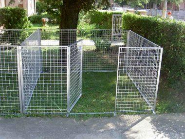 recinto per cuccioli 200 x 200 h 100 cm