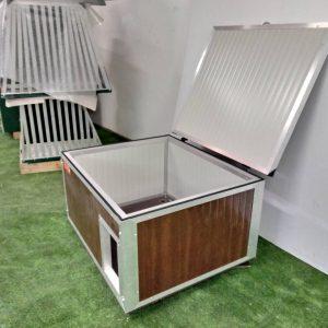 cuccia coibentata tetto pari nuova da 100 x 85 h 50 cm